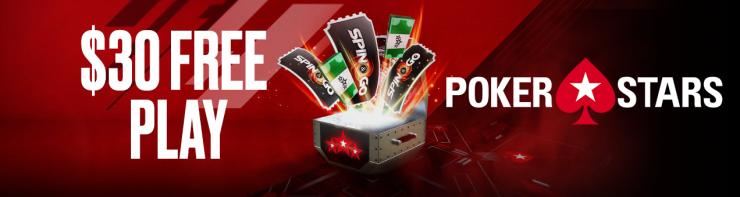 30 freeplay pokerstars